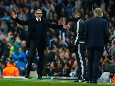 Manchester City are the 'guest club' of the Champions League semi-finals, says PSG boss Laurent Blanc
