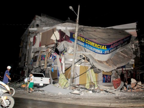 At least 77 killed in powerful earthquake in Ecuador