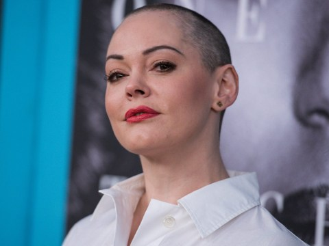Rose McGowan cancels book tour after public slanging match with trans woman