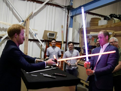 Prince William and Harry 'secretly filmed' Stormtrooper cameos for the new Star Wars film