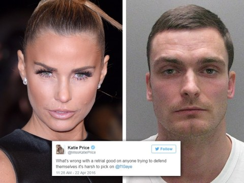 Did Katie Price just rubbish reports she will visit Adam Johnson in prison for TV show?