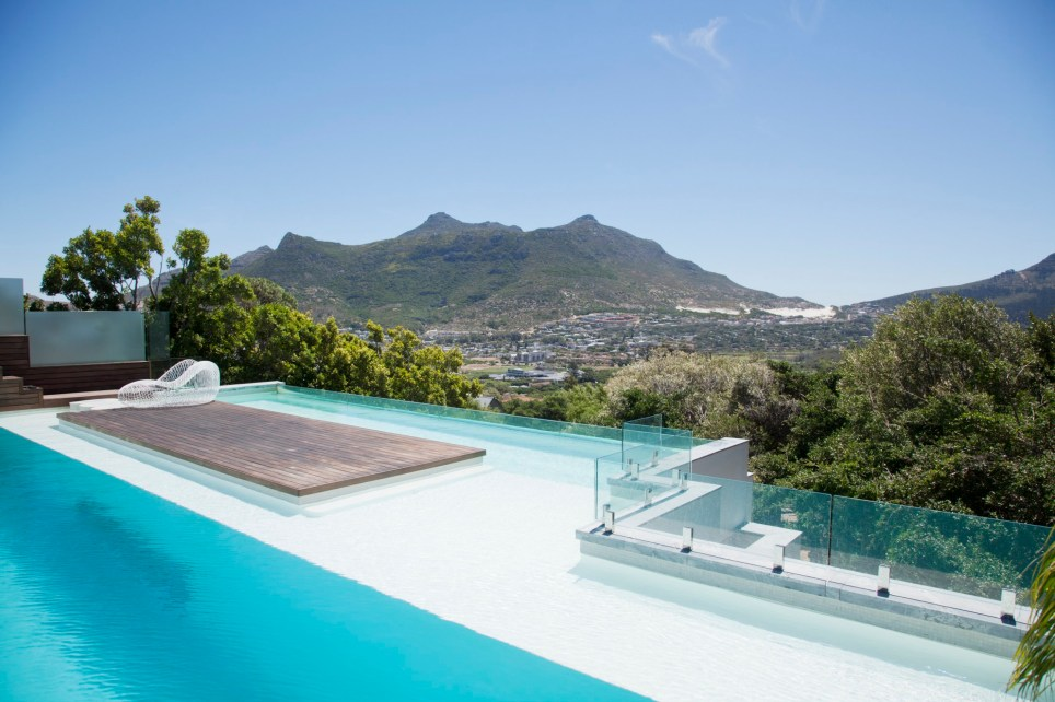 xx amazing pools with a view Cape Town, South Africa Credit: Getty Images