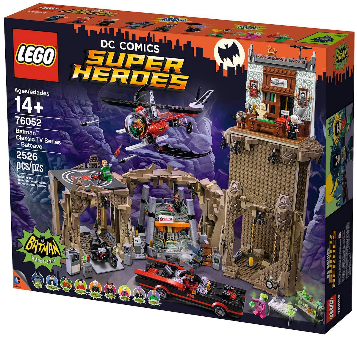 Batnews! There's a massive LEGO 60s Batcave and we never want to leave our homes again