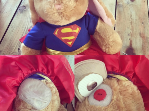 How a teddy bear is helping kids with an ostomy to smile