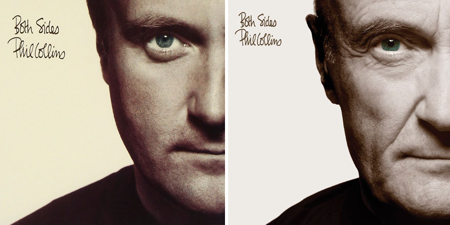 Phil Collins has recreated six of his solo album covers and they look epic