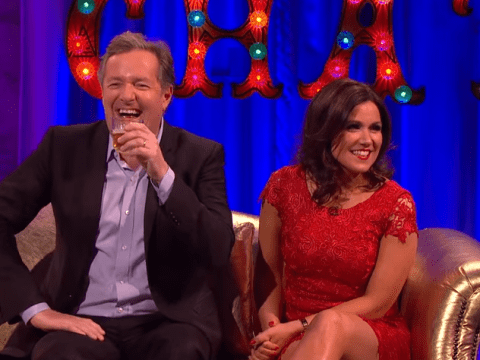 Susanna Reid insists there is no 'intense sexual tension' between her and Piers Morgan