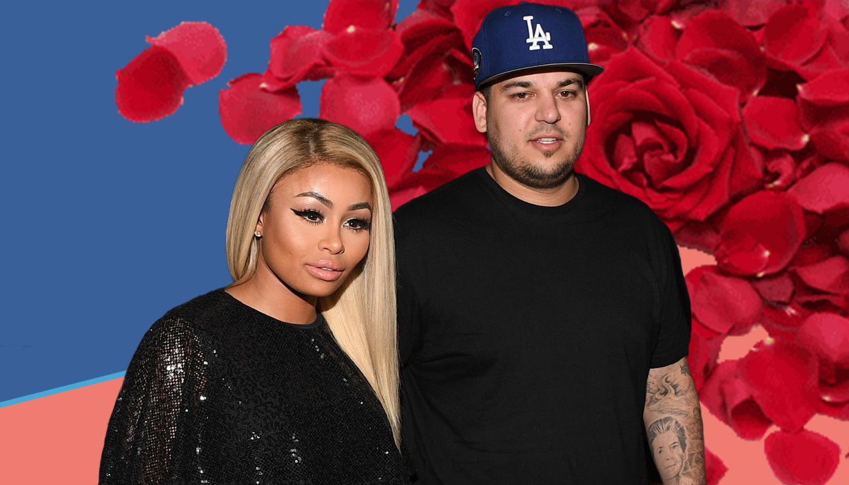 blac chynaand and rob kardashian Credit: Getty Images