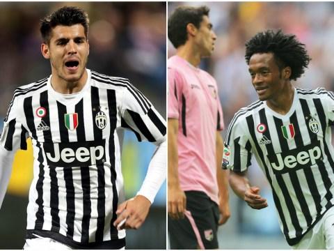 Top Juventus official concerned about losing Alvaro Morata and Juan Cuadrado