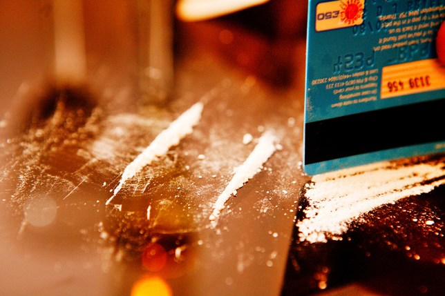 It's probably not a good idea to ask police to test purity of your cocaine (Picture: Alamy)