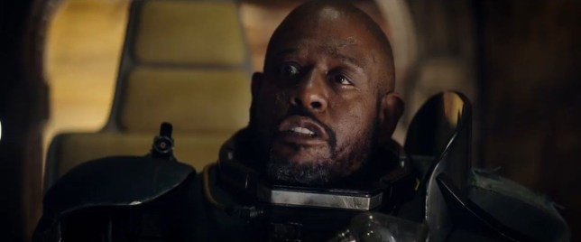 Help me, Forest Whitaker, you're my only hope (Picture: You Tube)