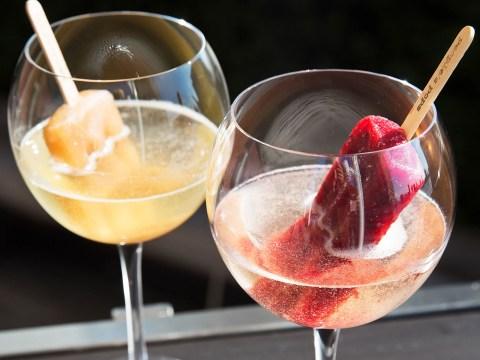 This summer cocktail idea is simple but SO genius