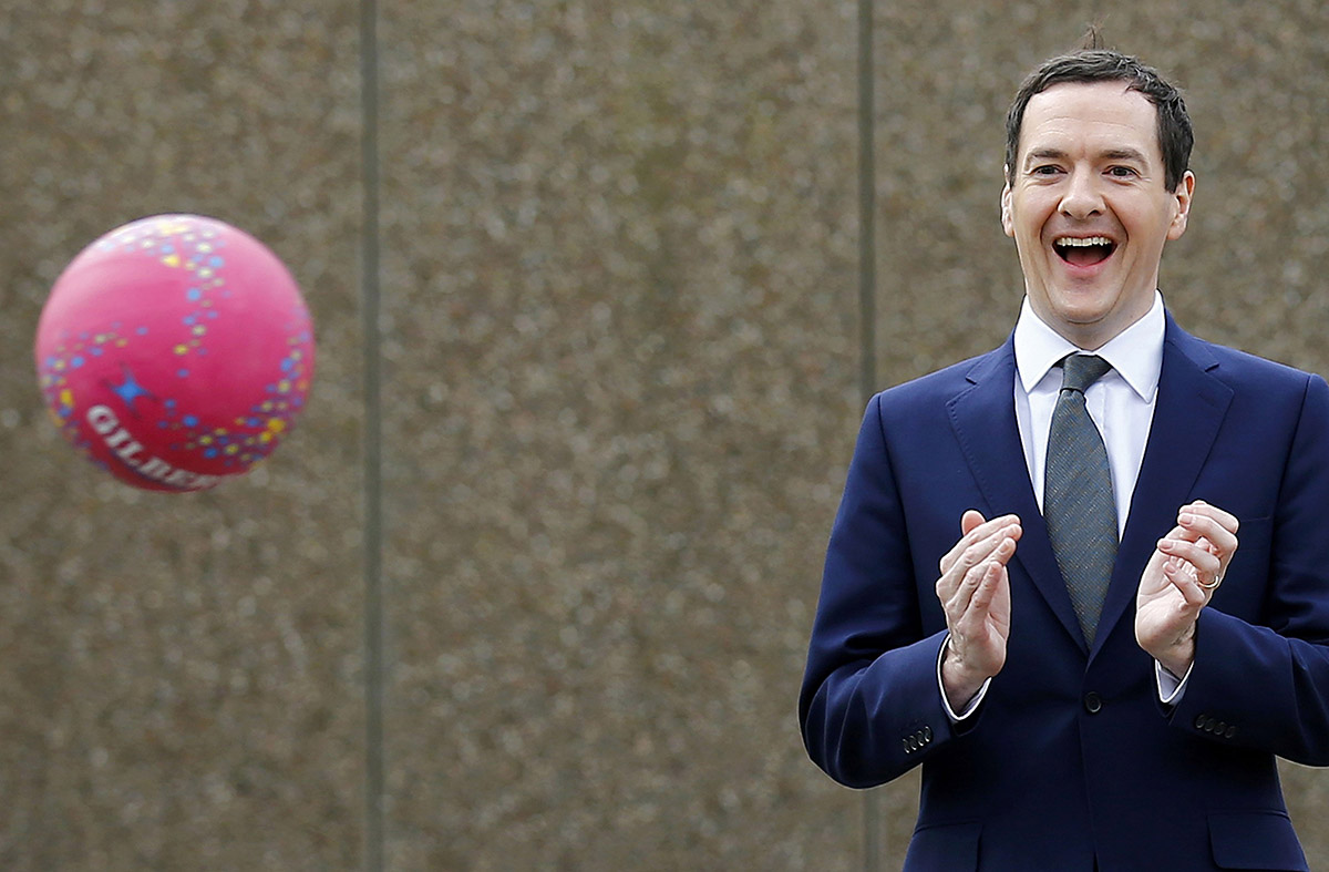 George Osborne warns a Brexit could lead to a recession (Picture: Getty)