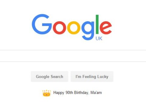 Google really outdid themselves with this doodle for the Queen's 90th birthday