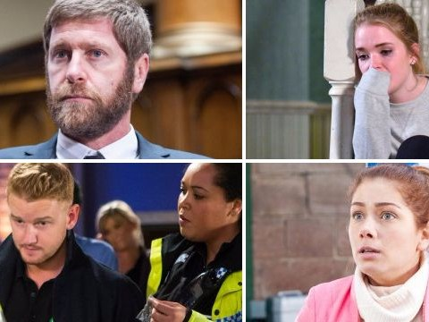 12 soap spoiler pictures: Emmerdale rape verdict, EastEnders revenge, Coronation Street drugs arrest