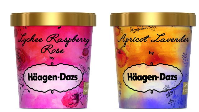 Häagen-Dazs is selling ice cream made of flowers at Liberty's – here's what it tastes like