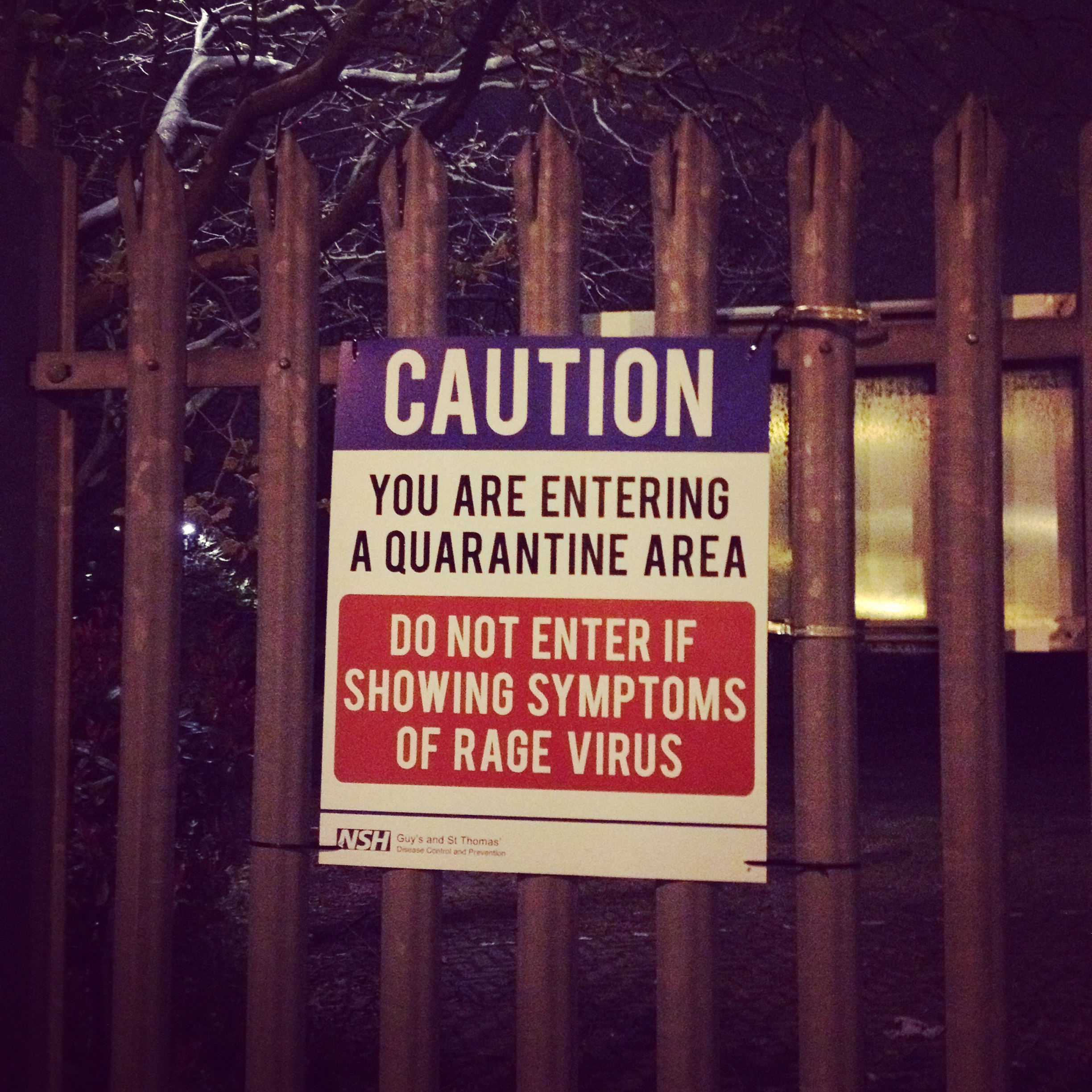 Secret Cinema does 28 Days Later – 28 tips for surviving a zombie apocalypse