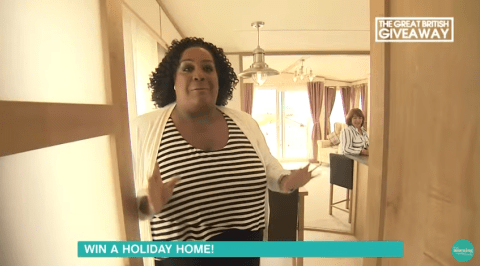 This Morning's Alison Hammond got stuck in a door and it was hilarious