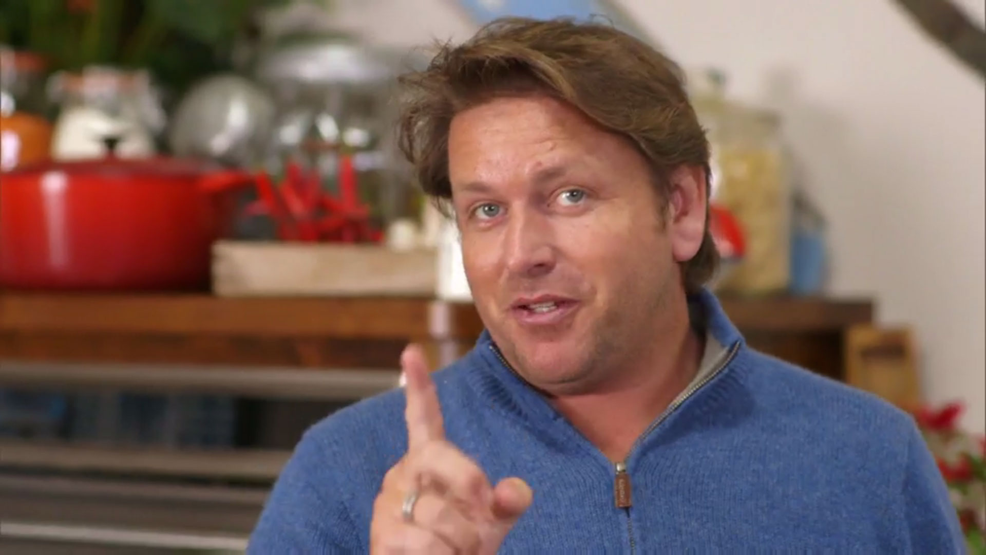 James Martin has already returned to Saturday Kitchen – to cook an omelette