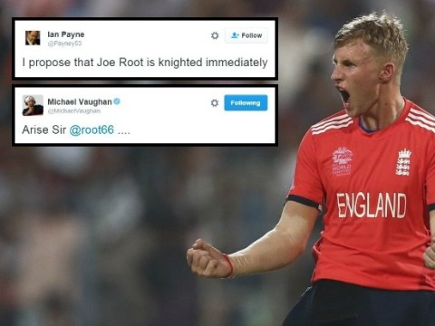 England cricket fans demand Joe Root is knighted for World T20 final display