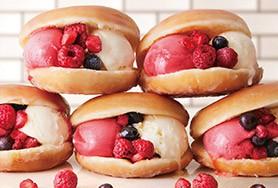 krispy kreme ice cream sandwich