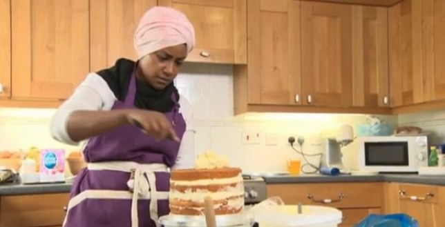 Did Nadiya use caged eggs for the Queen's birthday cake? (Picture: The One Show