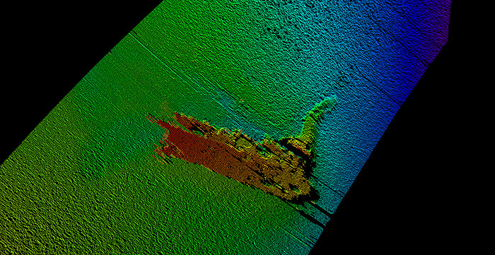 Strongest proof yet turned out to be a film prop (Picture: Konsberg Maritime)