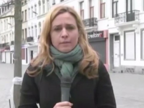 Watch: Journalist harassed live on air during Molenbeek report