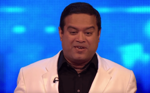WATCH: Chaser Paul Sinha is surprised by The Chase contestant who is his double