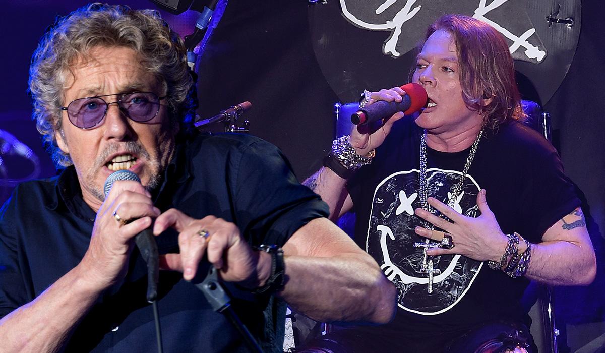 Roger Daltrey slams AC/DC for bringing in 'karaoke' frontman Axl Rose