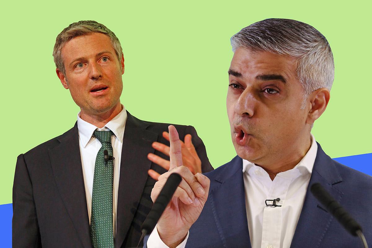 London Mayor Election: Sadiq Khan accuses Zac Goldsmith of 'acting like Donald Trump'