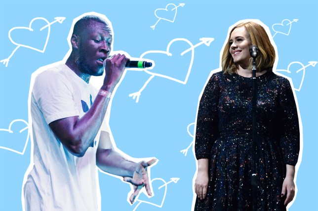 Adele 'skanks with Stormzy's mum' at rapper's Brixton gig