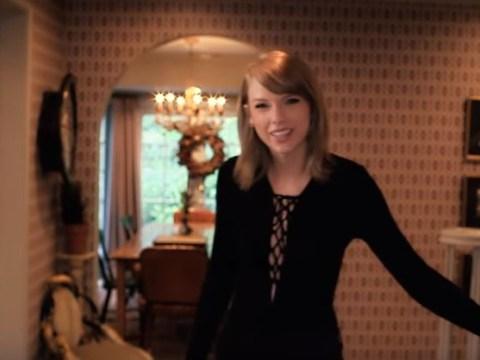 Taylor Swift lets cameras snoop around her lavish $25m cat-filled Beverly Hills home