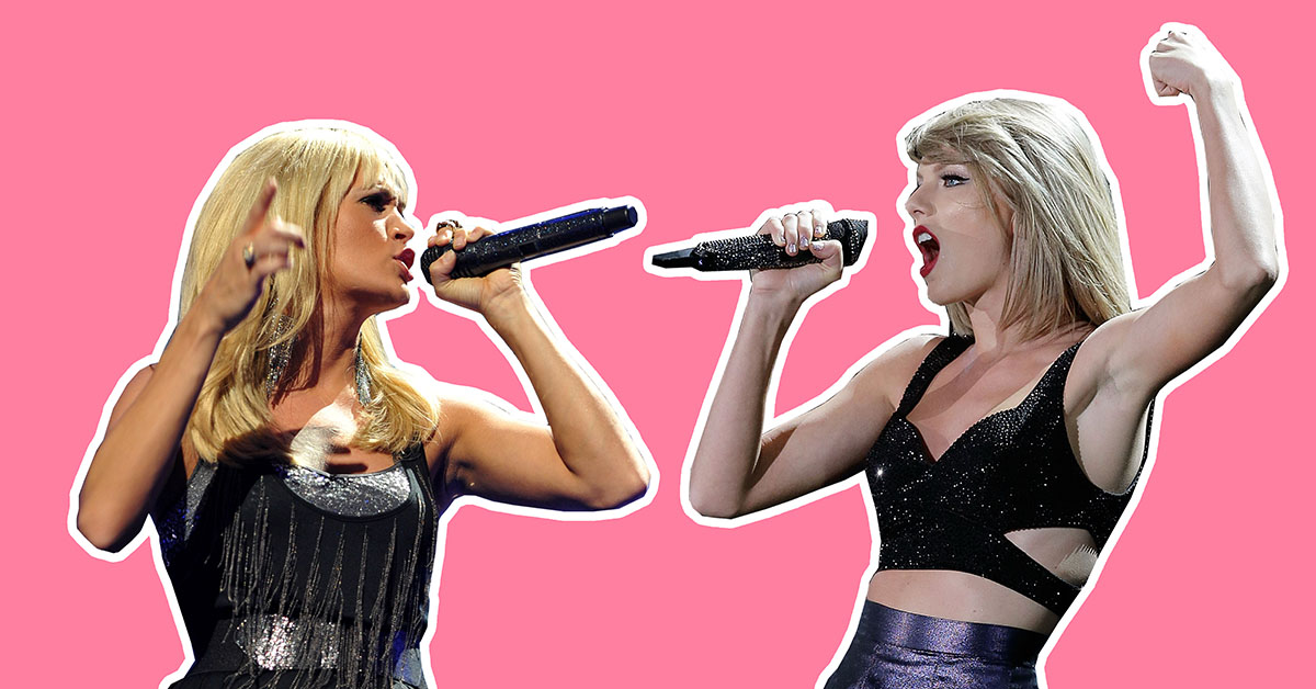 Taylor Swift and Carrie Underwood are apparently beefing again over Calvin Harris 'faux-mance' diss