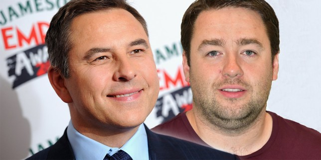 David Walliams and Jason Manford for new tV show? Credit: Getty/ Rex