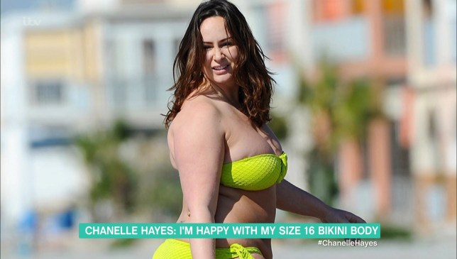 Chanelle Hayes on This Morning