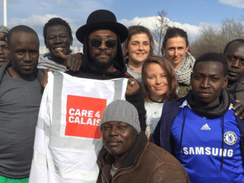 Will.i.am spent the day after The Voice final in the Calais Jungle 'to come back down to real life'