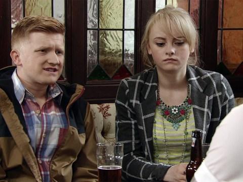 Coronation Street spoilers: All over? Chesney's heartache as Sinead makes a move on Aidan!
