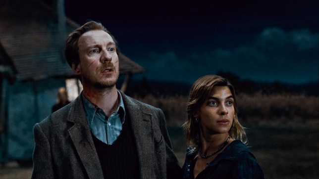 "(L-r) DAVID THEWLIS as Remus Lupin and NATALIA TENA as Nymphadora Tonks in Warner Bros. Pictures' fantasy adventure ""HARRY POTTER AND THE DEATHLY HALLOWS – PART 1,"" a Warner Bros. Pictures release"