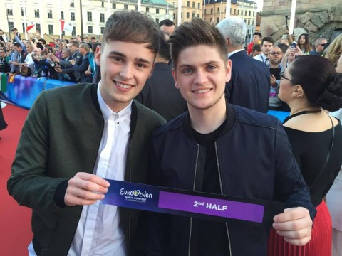Joe and Jake to sing in the second half of the Eurovision 2016 final