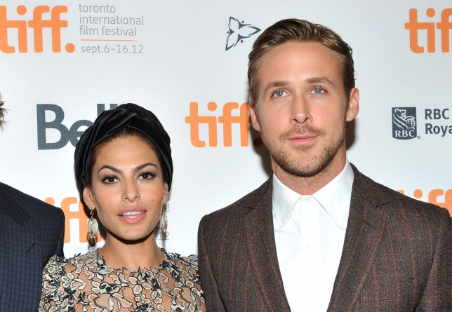 Eva and Ryan Gosling (Picture: Sonia Recchia/Getty Images)
