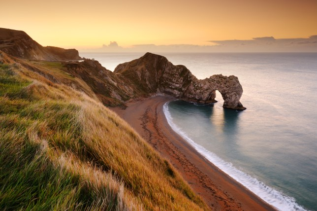 The Jurassic coast offers some stunning views (Picture: Getty)