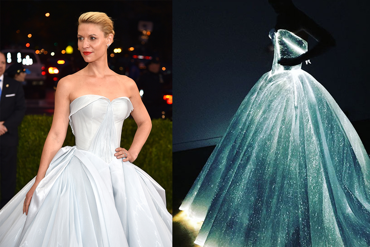 Claire Danes' light-up Cinderella dress is straight out of a fairytale