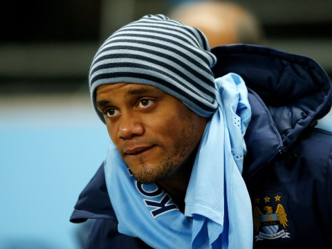 Despair for Vincent Kompany after Manchester City defender is ruled out of Euro 2016 through injury