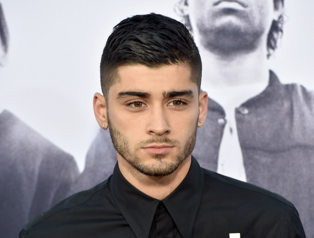 "LOS ANGELES, CA - AUGUST 10: Singer Zayn Malik arrives at the premiere of Universal Pictures and Legendary Pictures' ""Straight Outta Compton"" at the Microsoft Theatre on August 10, 2015 in Los Angeles, California. (Photo by Kevin Winter/Getty Images)"