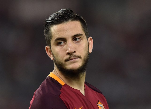 ROME, ITALY - SEPTEMBER 16: Kostas Manolas of AS Roma during the UEFA Champions League Group E match between AS Roma and FC Barcelona, at Olimpico Stadium on September 16, 2015 in Rome, Italy. (Photo by Giuseppe Bellini/Getty Images)
