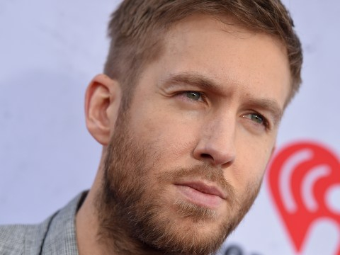 Calvin Harris had the perfect response to a pap asking him about Taylor Swift and Tom Hiddleston