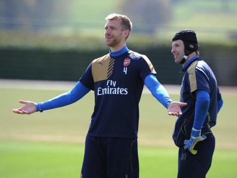 Arsenal injury news: Per Mertesacker season hangs in the balance, long-term absentees could play for the Under-21s