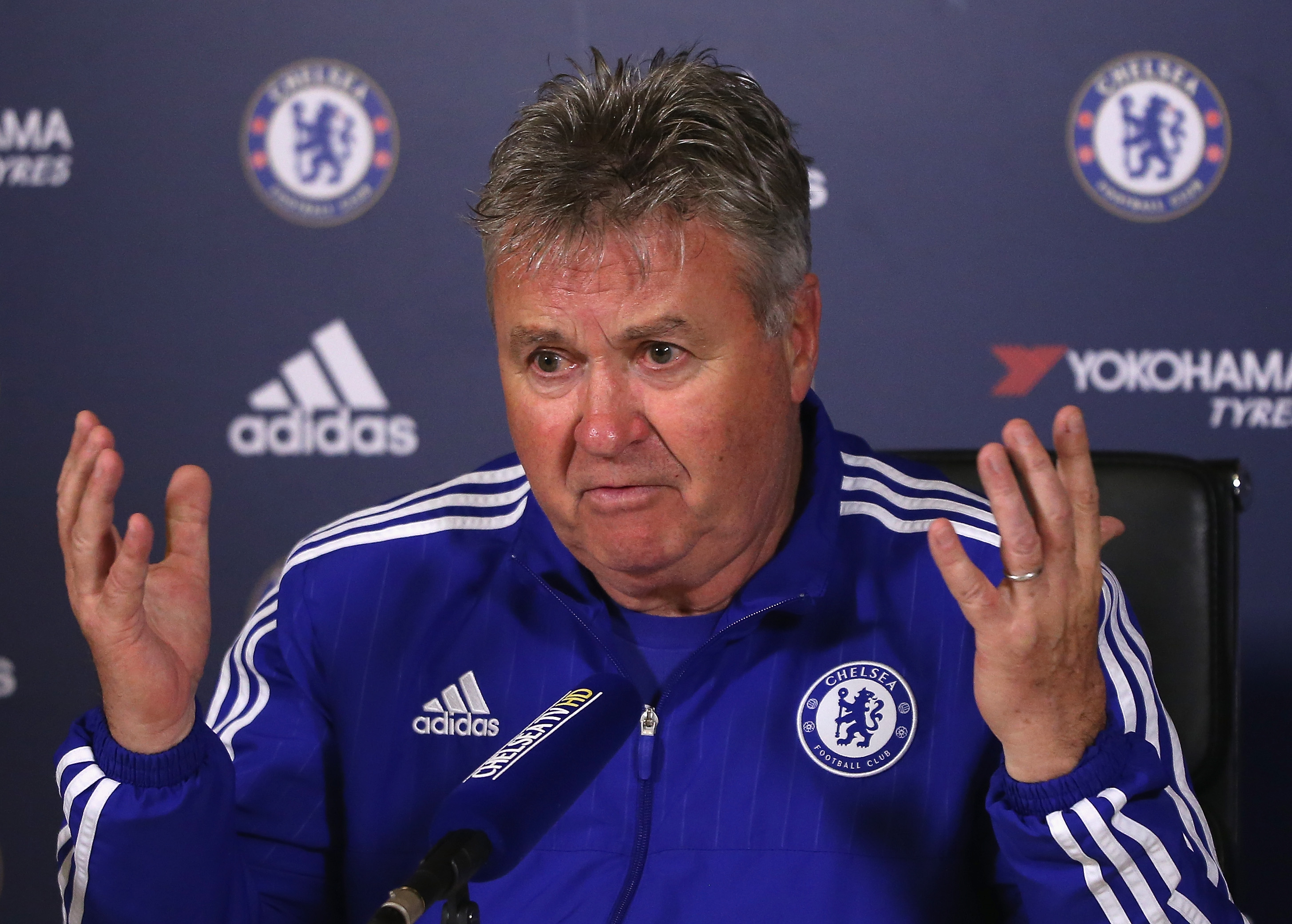 Chelsea have enjoyed a great second half of the season, insists Guus Hiddink
