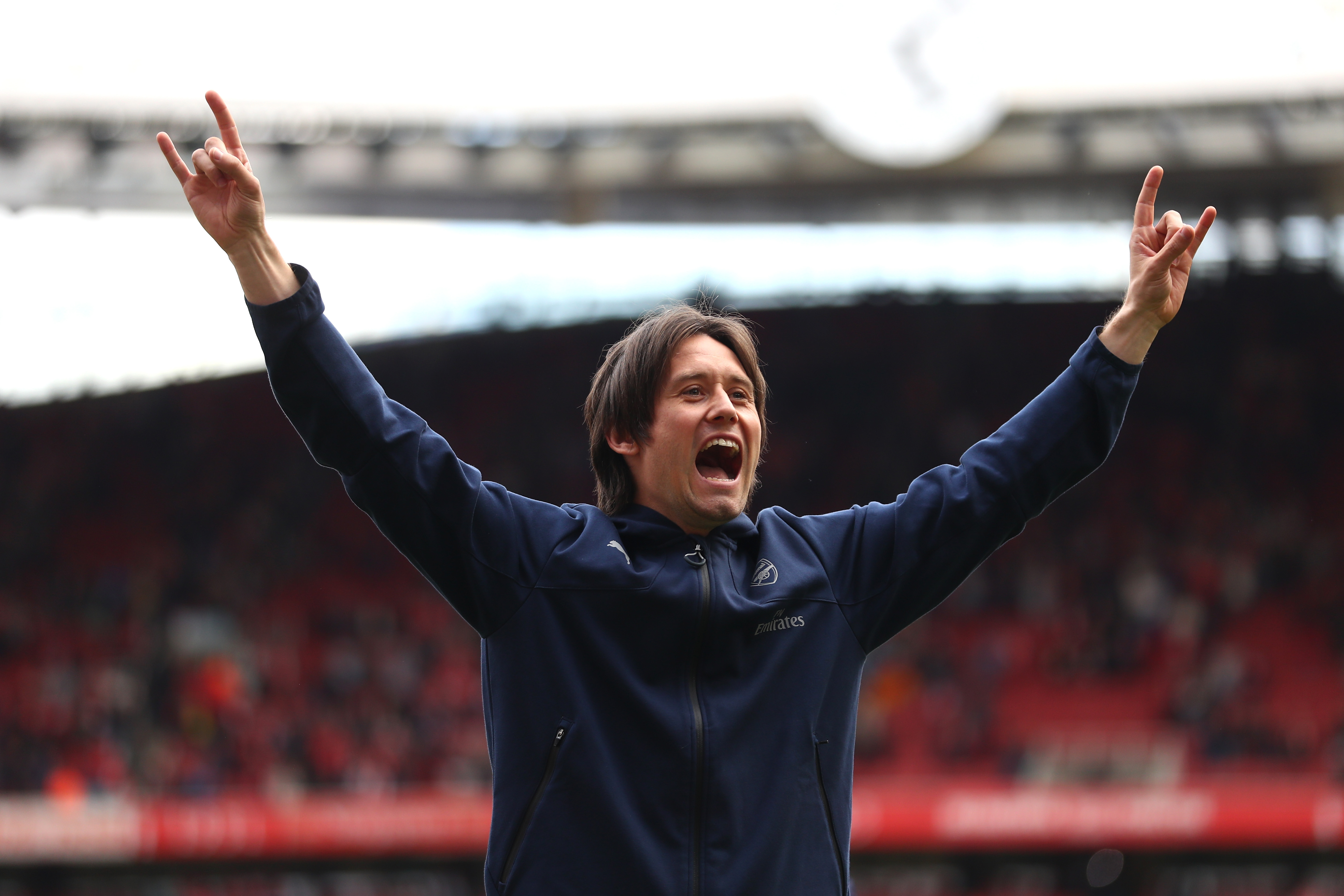 Arsenal hero Tomas Rosicky reveals Syrian boy's touching message which inspired comeback