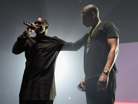Jay Z joins Puff Daddy and other hip hop royalty at the Bad Boy reunion gig